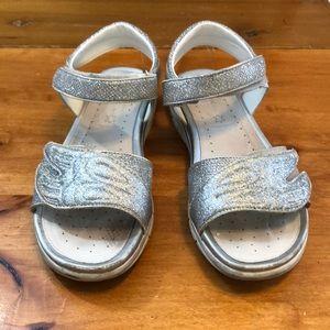 Geox Respira glitter sandals